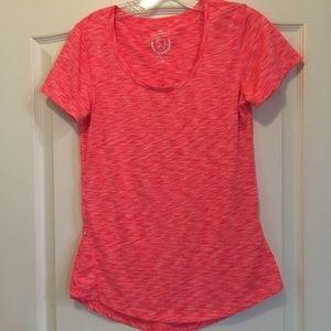 Pink workout shirt